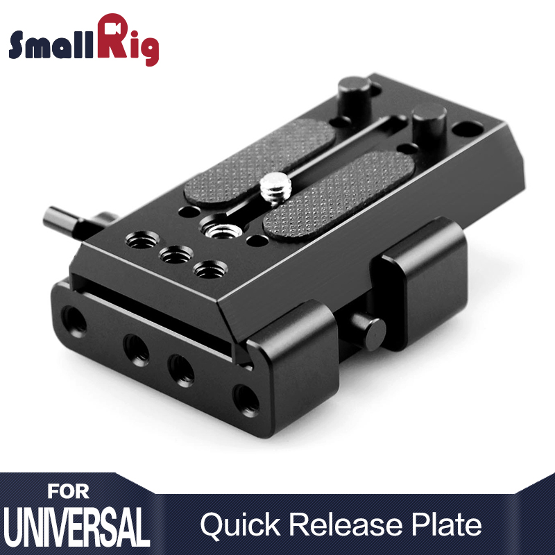 SmallRig Camera Video Quick Release Plate Manfrotto Tripod Plate for Manfrotto 501 Plate and 501PLONG 1503 всепогодный чехол manfrotto pro light video camera raincover crc 14