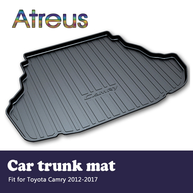 Atreus For 2006-2011 2012-2017 Toyota Camry Accessories 40 XV40 XV50 Car Rear Boot Liner Trunk Cargo Mat Tray Floor Carpet Pad цена