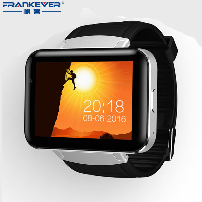 GPS WIFI 2.2inch full-touch Screen Bluetooth Smart Watch android support 3G phone call Video call with 130 Pixels Front Camera wireless service call bell system popular in restaurant ce passed 433 92mhz full equipment watch pager 1 watch 7 call button