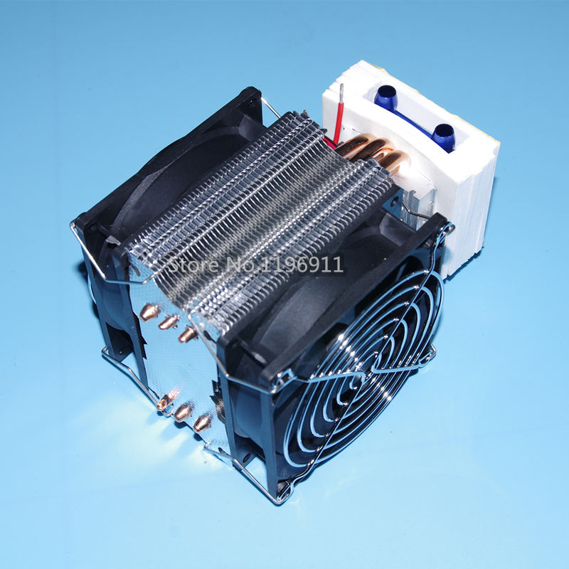 TEC2-19008 12V 60W double fans layer water cooler cooling film make Cold water machine circulating water refrigeration kit 5 pcs qdzh35g r134a 12v cooling compressor for marine refrigeration unit