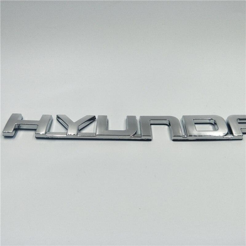 For Hyundai Elantra Rear Trunk Tail Gate Lid Emblem Decal Badge Logo Label Stickers emblem