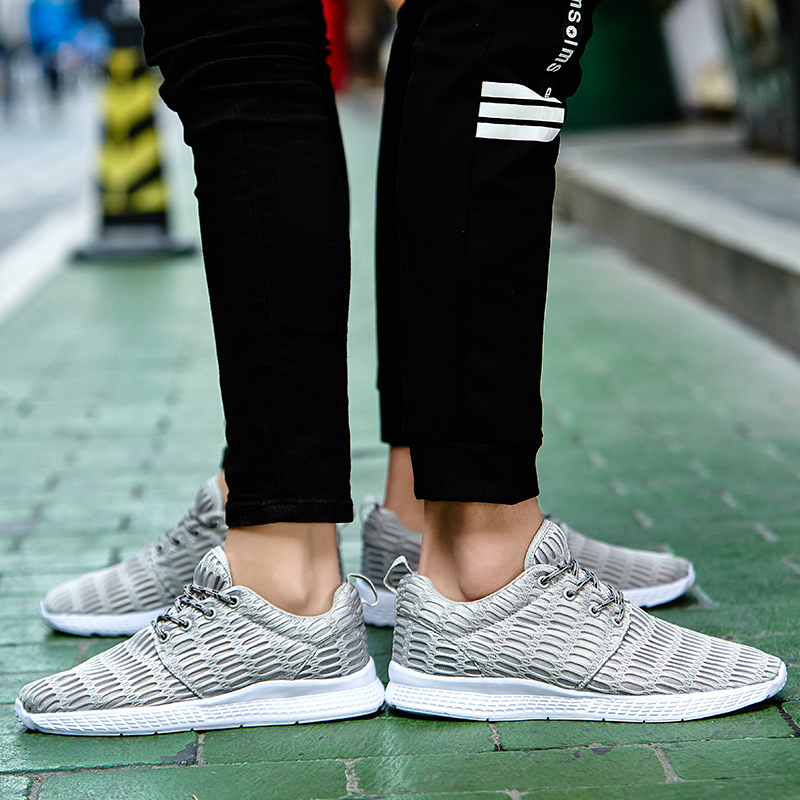 Valentine Shoes Woman Sport Casual Shoes Women Trainers Flat Heel Low Top Women Shoes Outdoor Air Mesh Runner Shoes Flats ZD66 (50)