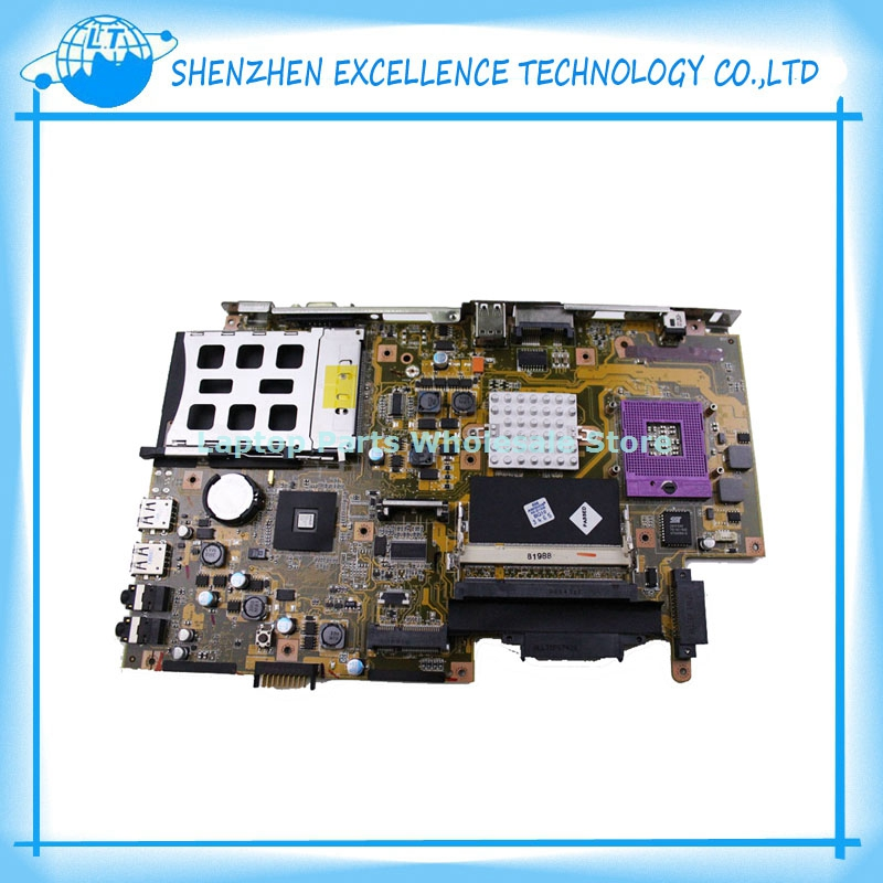 Original For ASUS X51RL REV 2.0 motherboard Notebook Motherboard/System PC Mainboard 100%Tested ok,High Quality!Free shipping  original notebook motherboard x54c k54c for asus rev 2 1 system pc mainboard with ram on board