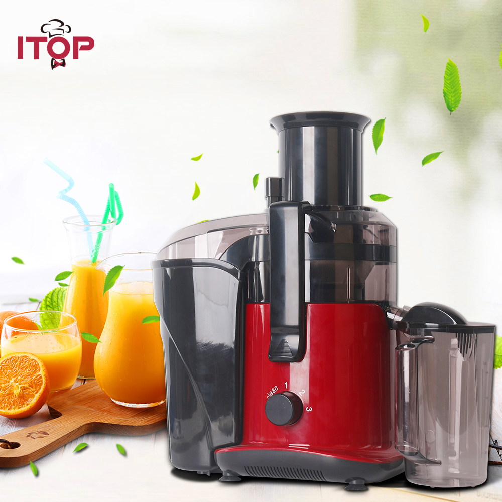 ITOP 220V High Quality Juicers Blender 3 Speeds Electric Juice Extrator Orange Citrus Lemon Fruit Drinking Machine For Home in Juicers from Home Appliances