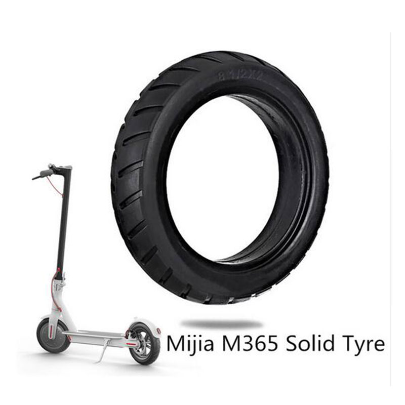 8.5Inch XiaomiMi Mijia M365 Solid Tyre Inner Tire Non-Pneumatic Damping Rubber Tyres Front Rear Electric Scooter Skateboard