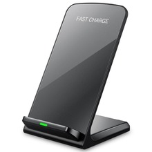 10W 9V Fast Wireless Charger for Apple iPhone 8 X XS XR desktop Holder Wireless Charging Pad for Samsung Note 8 S9 S8 Plus S7 S6