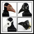 The Plague Bird mask Doctor mask Long Nose Cosplay Fancy Mask Exclusive Gothic Steampunk Retro Rock Leather Halloween Face mask