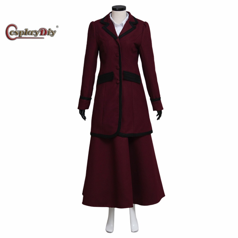 Cosplaydiy Doctor Who Missy Mistress Suit Costume Adult Women Halloween Carnival Cosplay Clothes Custom Made J10