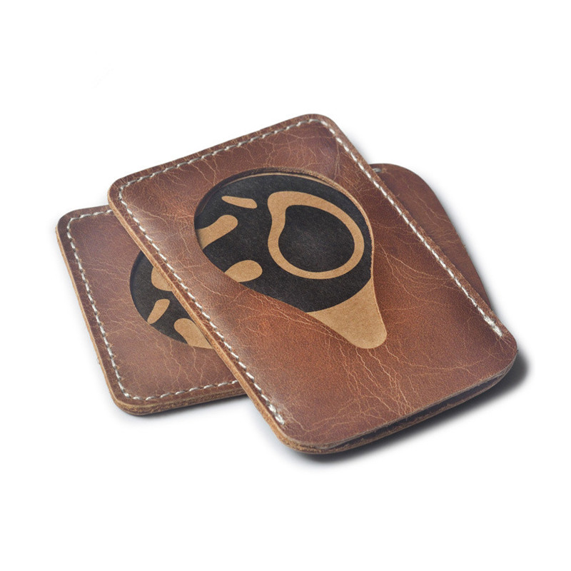 Fashion card holders genuine leather card protective case