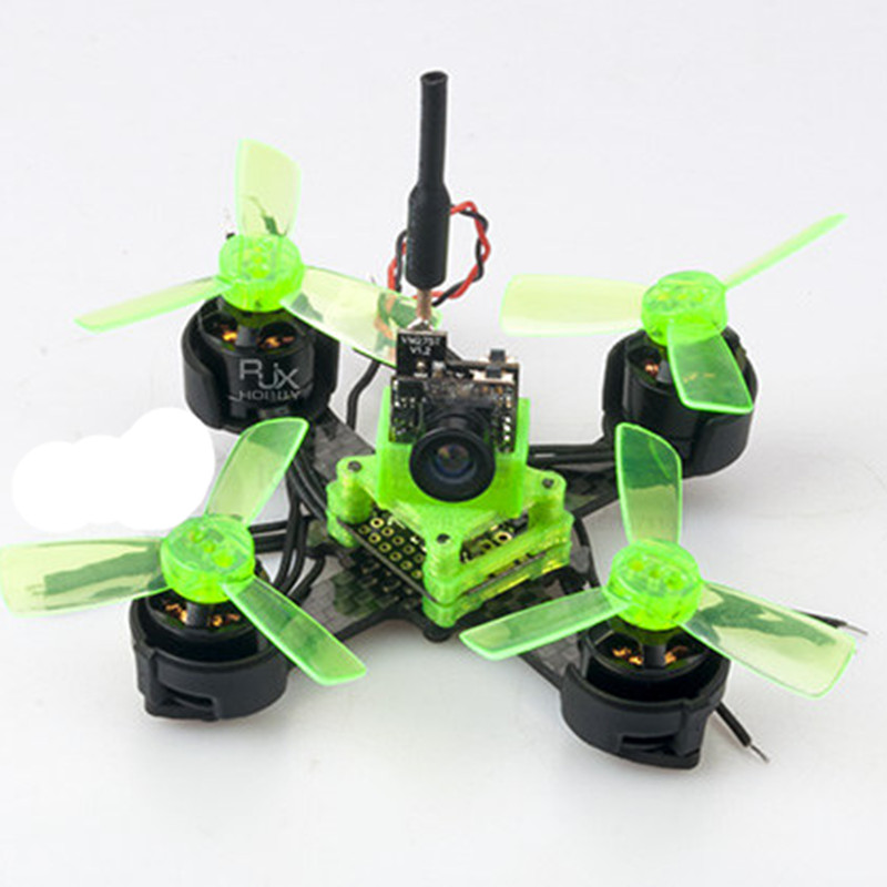 DIY FPV BNF frame kit brushless micro indoor drone 70mm pure carbon quadcopter unassembled 16mm x 16mm diy fpv mini drone qav210 quadcopter frame kit pure carbon frame cobra 2204 2300kv motor cobra 12a esc cc3d naze32 10dof