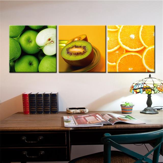 Früchte Leinwand Malerei Große Wandbilder für Wohnzimmer Küche ...