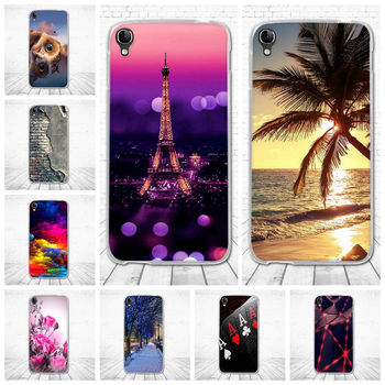 For Alcatel OneTouch Idol 3 5.5'' OT-6045 6045Y 6045K Case Silicone TPU 3D Pattern Back Cover For Alcatel Idol 3 (5.5) Cases image