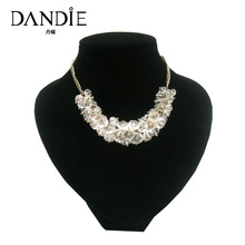 Dandie New Trendy Handmade Acrylic  Bead Choker Necklace, Fashion Necklace For Women