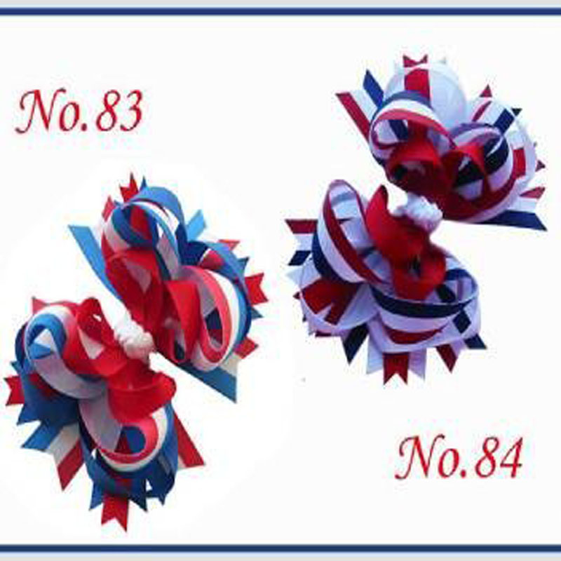 50 BLESSING Good Girl Boutique 4.5 Funky Hair Bow Clip 92 Styles