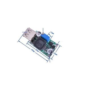 Image 3 - ממיר Boost DC DC 3 V עד 5 V כדי 9 V 2A מודול צעד למעלה מתח יציאת USB