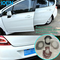 1 pc/5 M Macio Invisível adesivos de Carro decorativo porta proteger Anti-colisão esfregar tiras Carro styling para toyota vw ford audi