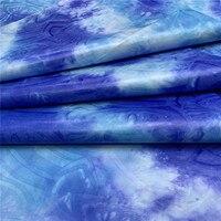 Shining Austria Tie dyeing Bazin Riche Fabric(Similar to Jacquard Guinea Brocade Fabric 100% Cotton Shadda Perfume 14L
