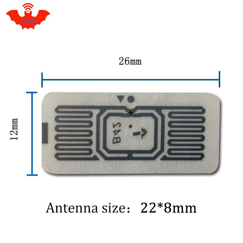 RFID метка UHF стикер Impinj B42 мокрой инкрустация 915 МГц 900 868 МГц 860-960 МГц Higgs3 EPCC1G2 6C Смарт клей пассивный RFID метки RFID этикетка