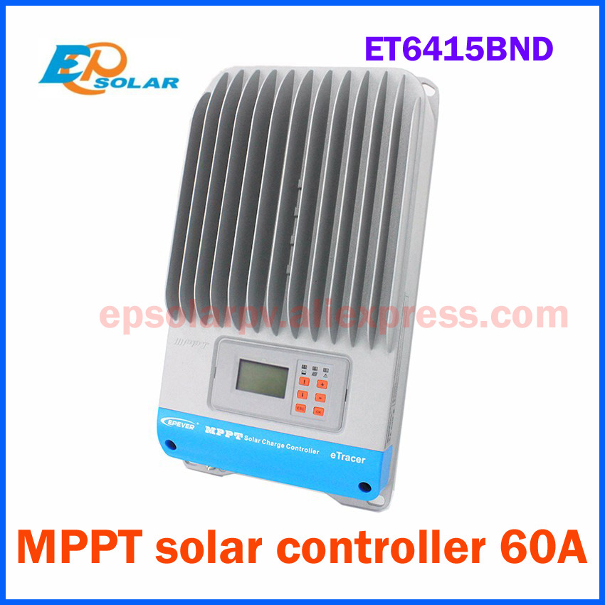 EPSOLAR ET6415BND 60A MPPT Solar Charge Controller RS232 RS485 with Modbus protocol CAN Bus 12V 24V 36V 48V auto work 60a 12v 24v 48v solar charge controller engineering premium quality com rs232 with pc page 10