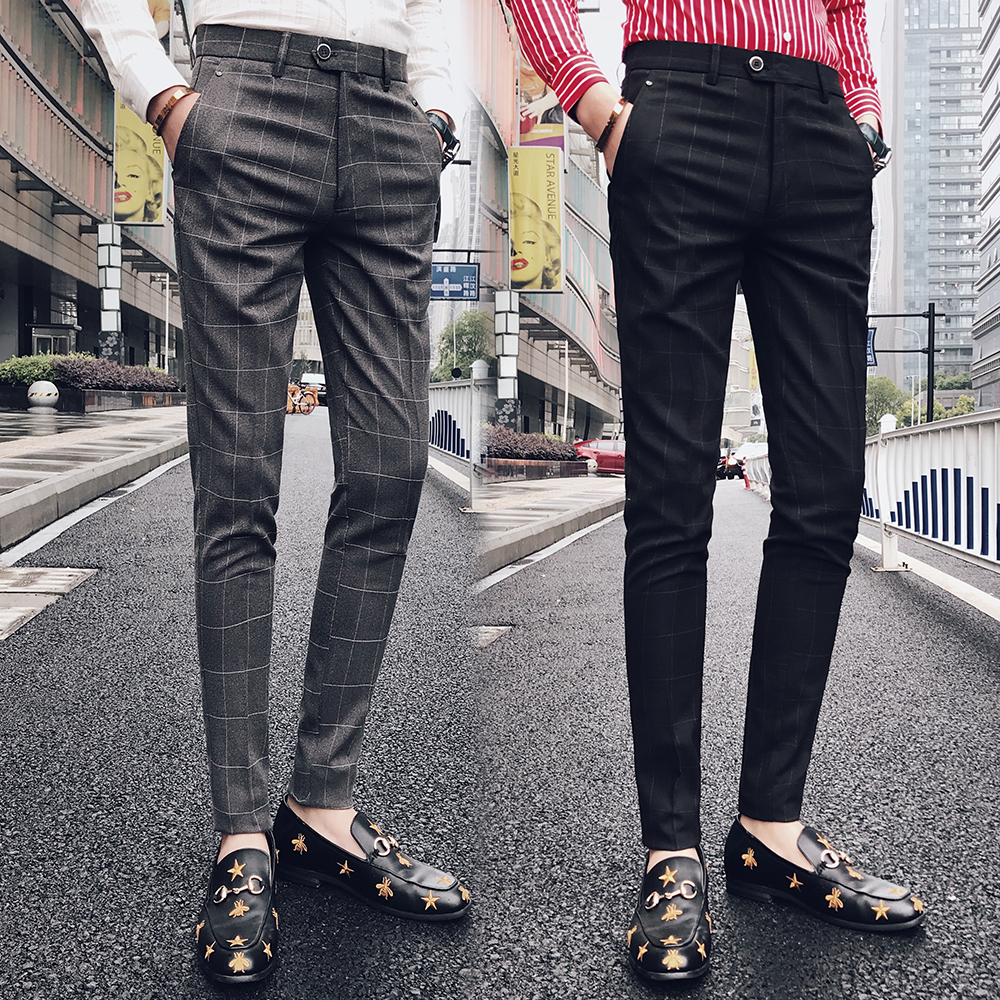 Brand Men's Casual Pencil Pants  1