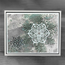 Eastshape 3Pcs/lots 209*139mm 2019 New Metal Cutting Dies Christmas Ornaments Snowflake Die Scrapbooking Craft