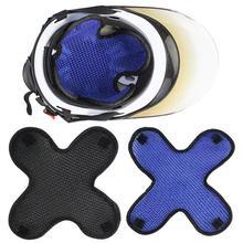 Motorcycle Motorbike E-bike Breathable Heat Insulation Helmet Cap Mesh Liner Pad