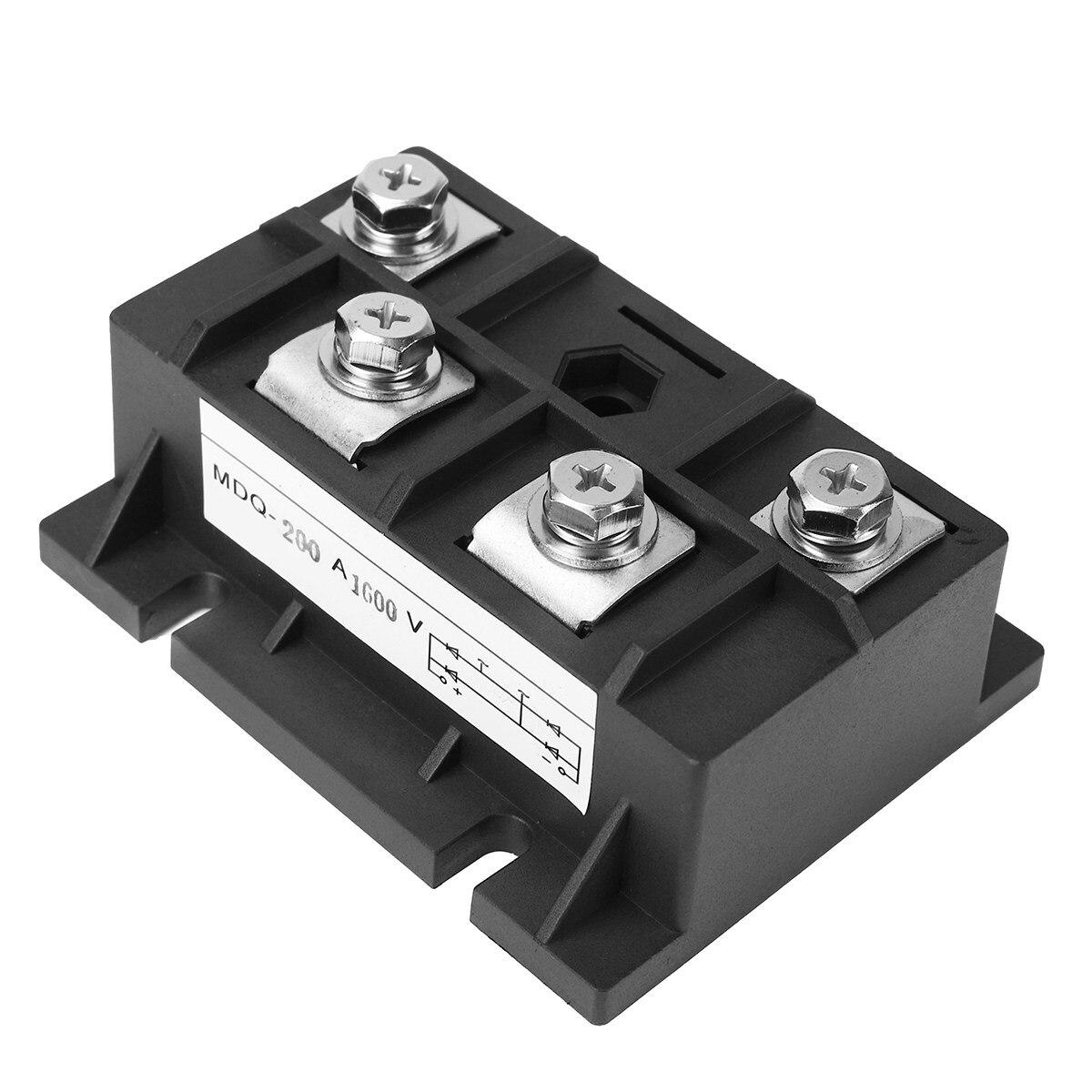 chỉnh lưu trên 1 diode - 1PC 122241581320 150A 1600V Diode Module Single Phase Bridge Rectifier MDQ-200A Rectifiers Electronic Components & Supplies