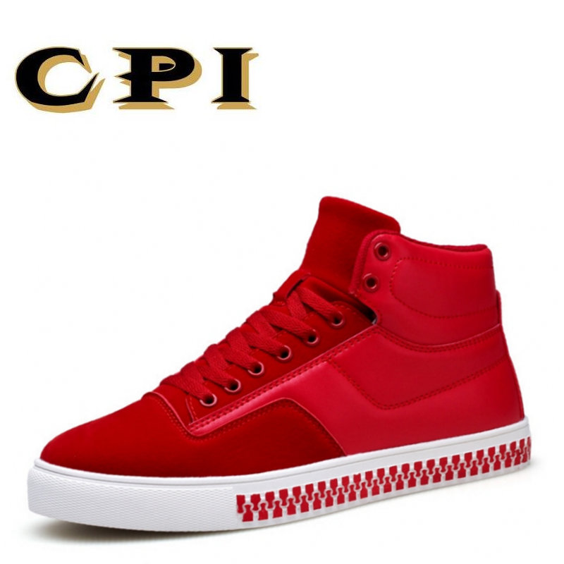 CPI 2018 New Autumn and winter Leather Men's Casual Shoes Fashion sneakers Shoes Comfortable Breathable Male Flats Shoes PP-204 2017 autumn and winter new plus velvet thick women s boots soft bottom comfortable breathable mother shoes wild leather