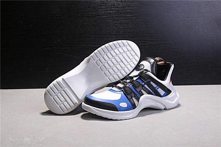 2018 Hot Brand Design zapatos de cuero real Brogue mujeres zapatilla - Zapatos de mujer - foto 4