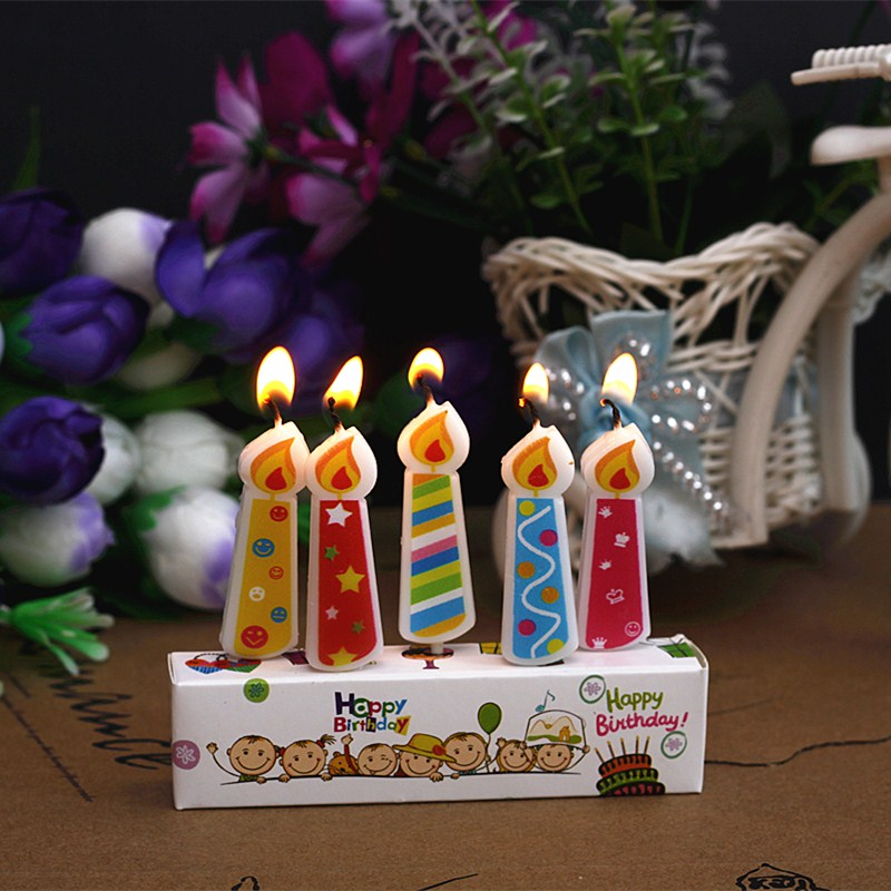 Creative Scented Birthday Weddings Candles Colorful Flameless Cake For Children Gifts DIY Decoration In Decorating Supplies