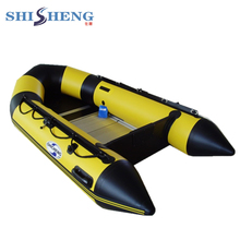 Rubber Boat Cheap Inflatable Boat with aluminium floor