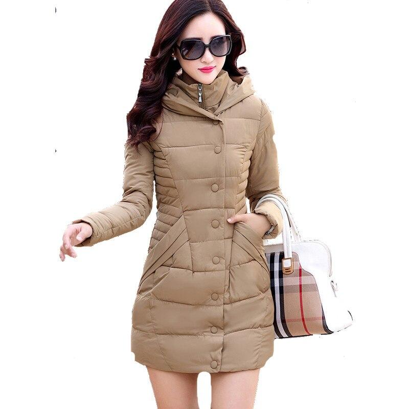 OLGITUM Winter Fashion Parkas Woman Coat White Duck Down Ultra Light Slim Solid Jackets  Long Jacket Female Oversize CC010