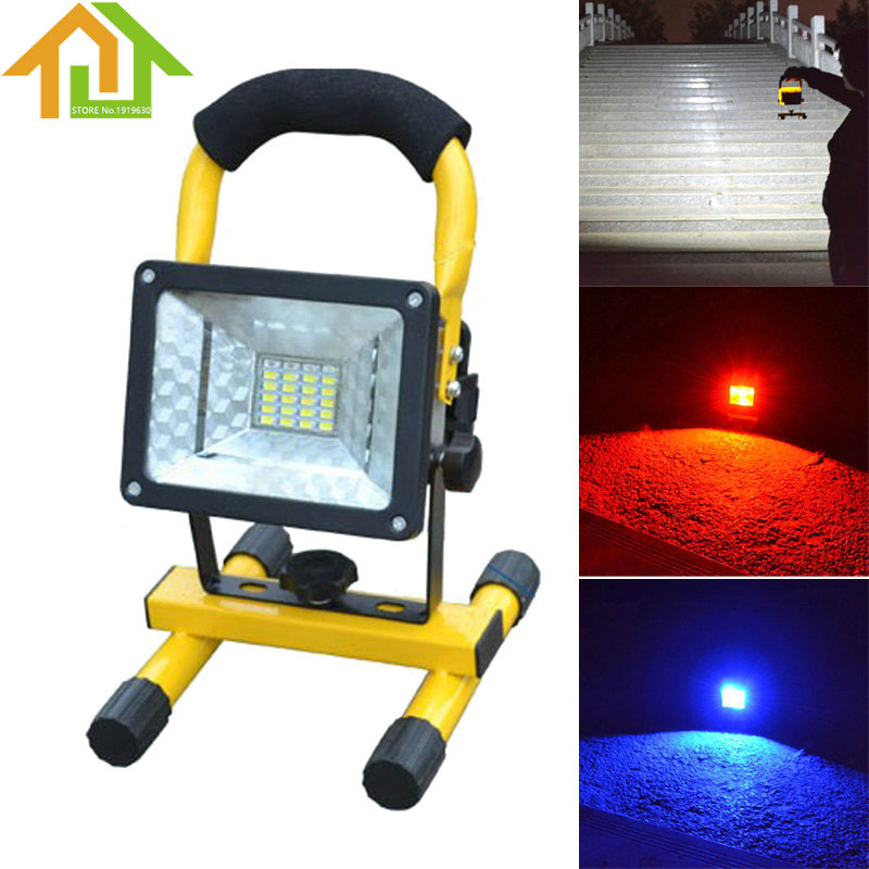 Outdoor Waterproof IP65 24 LED Flood Light Portable Emergency Lamp Work Light