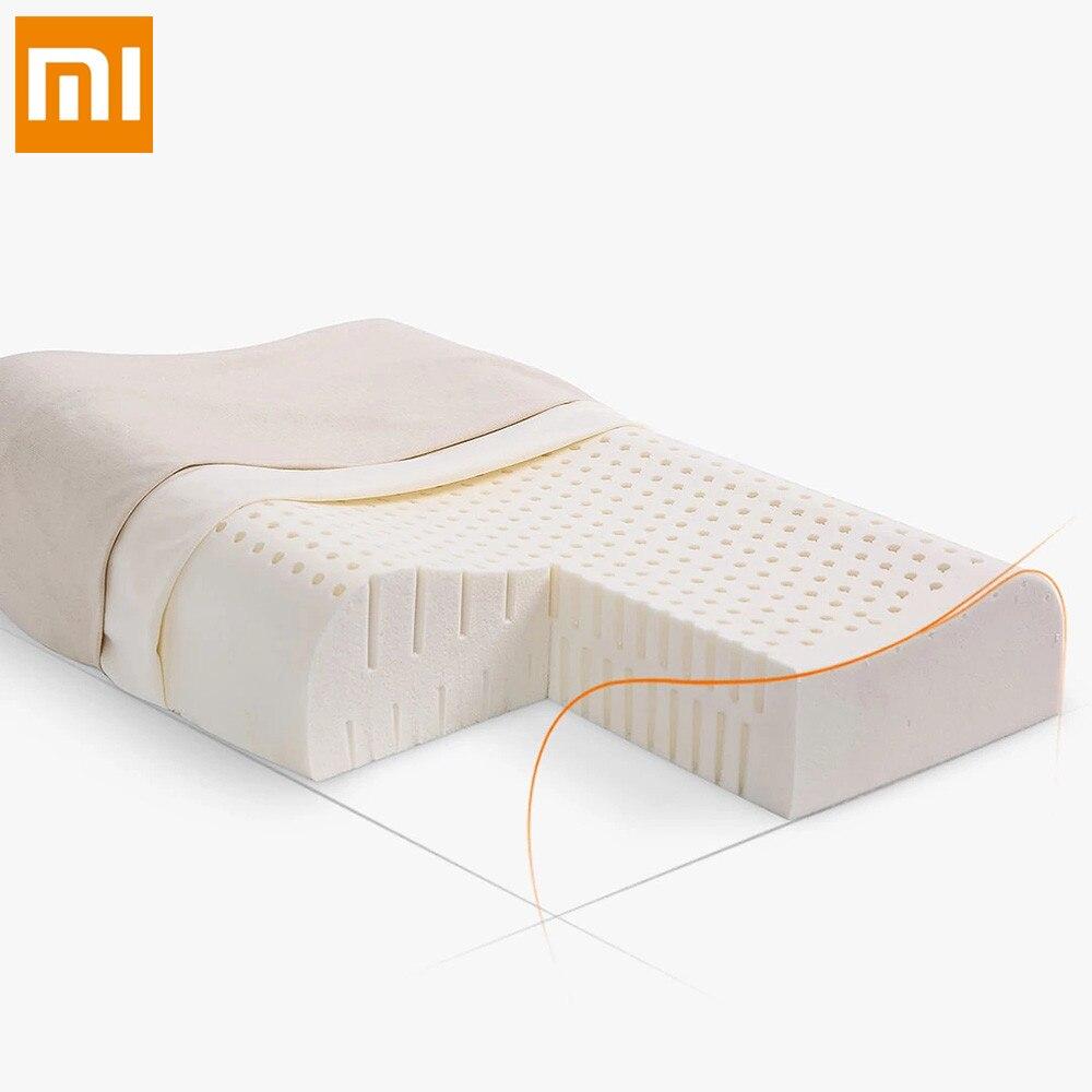 Оригинальный Xiaomi 8 H ощущение прохлады медленный отскок Хлопок Подушка Z2 супер мягкое антибактериальное шеи Поддержка подушки