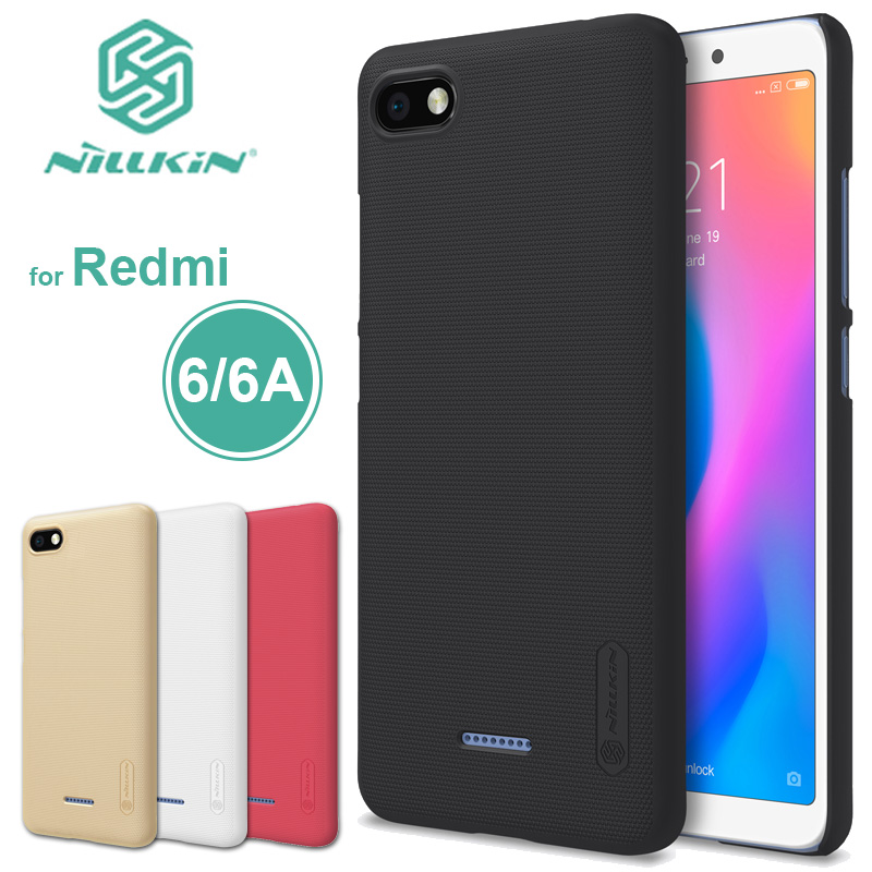 Xiaomi Redmi 6 Fall Nillkin Matt Schild Redmi 6A Harte PC Zurück Abdeckung Fall für Xiaomi Redmi 4A 5A Nilkin ultra Dünne Telefon Fall