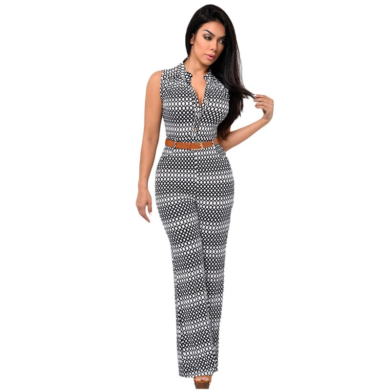 Circle-Print-Belted-Wide-Leg-Jumpsuit-LC60932-22