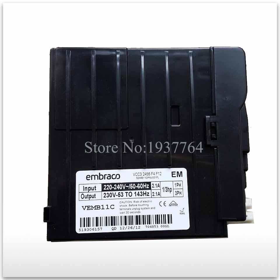 95% new for refrigerator inverter board and Embraco VCC3 2456 F4 F12 board vm06 0040 n4 dual inverter new