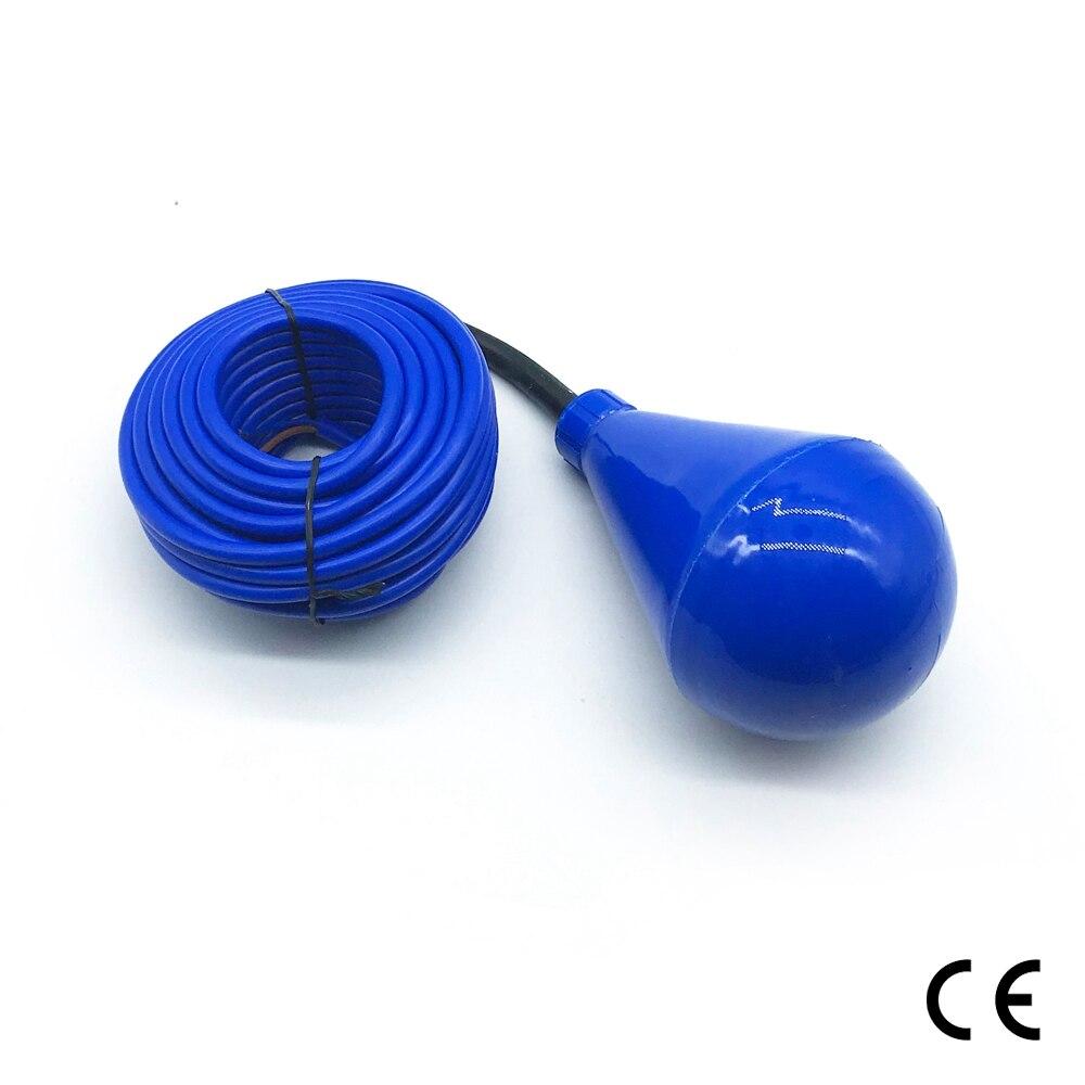 Sortie fiable interrupteur de commande signal flotteur interrupteur capteur 5 m 10 m fluide niveau contrôleur bonne qualité interrupteur flotteur livraison gratuite