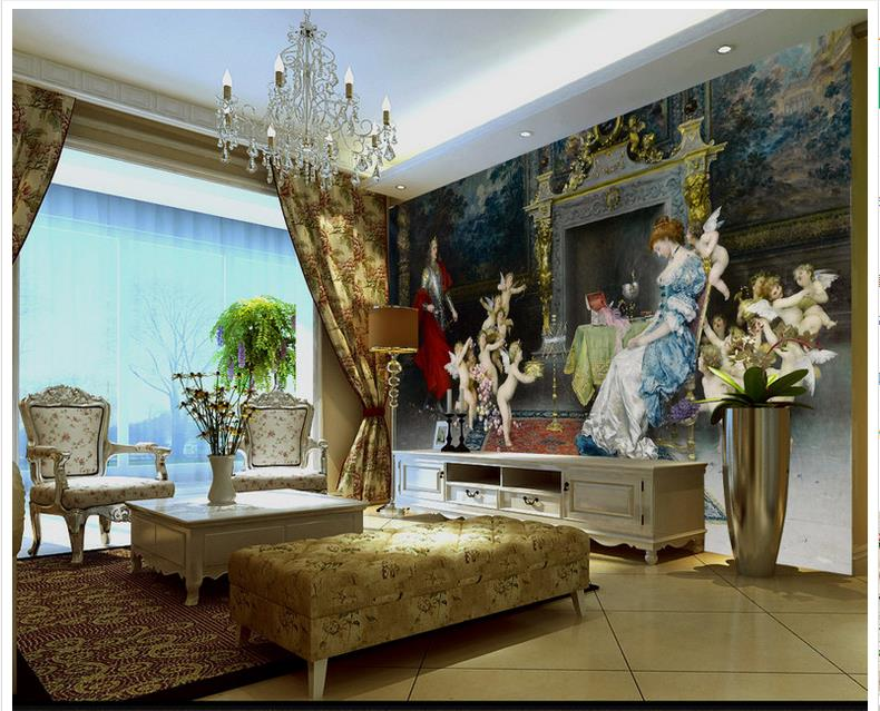 Palace Room Royal Vintage Furniture Wall Mural Photo Wallpaper GIANT WALL DECOR