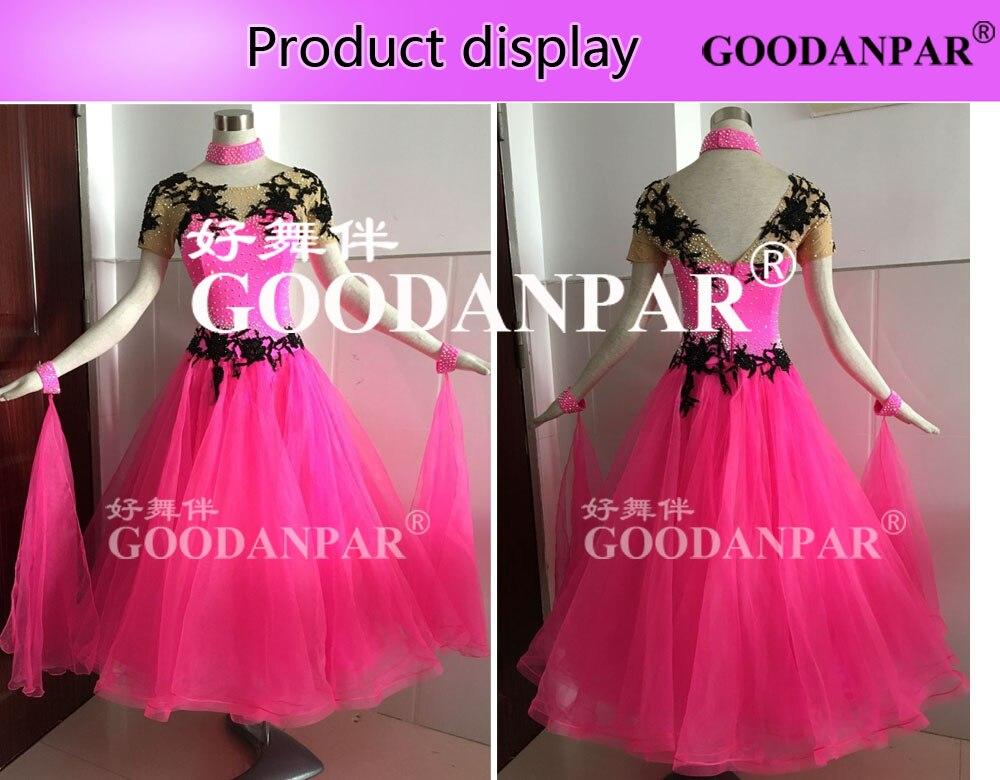 Licht Roze Jurk : ▻nieuwe stijl! ballroom concurrentie jurk stijldansen wals voor