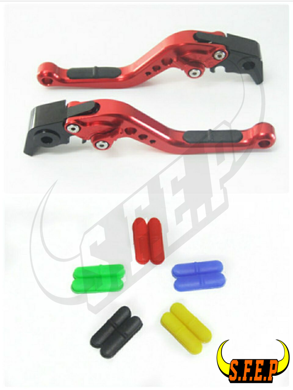 CNC Adjustable Motorcycle Brake and Clutch Levers with Anti-Slip For Honda GROM/MSX125 2014-2015-2016-2017-2018