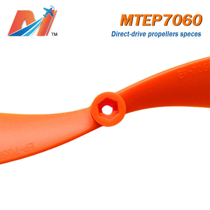 Maytech Uitverkoop (1 pc) 7.0x6.0 inch plastic materiaal Propeller