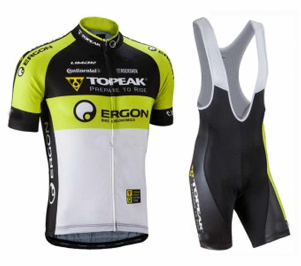 5957d0d44 2018 green team Cycling Jersey ride topeak ercon Summer Clothes perfect  cross training road Mountain country