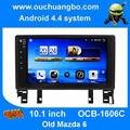 Ouchuangbo большой экран стерео радио gps мультимедиа для Старой Mazda 6 2003-2008 android 4.4 с AUX USB BT 1024*600