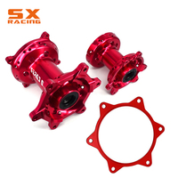 Motorcycle Aluminum Red Front And Rear Complete Wheel Hub Spocket Spacer Raiser For HONDA CRF250R 2014 2016 CRF450R 2013 2016