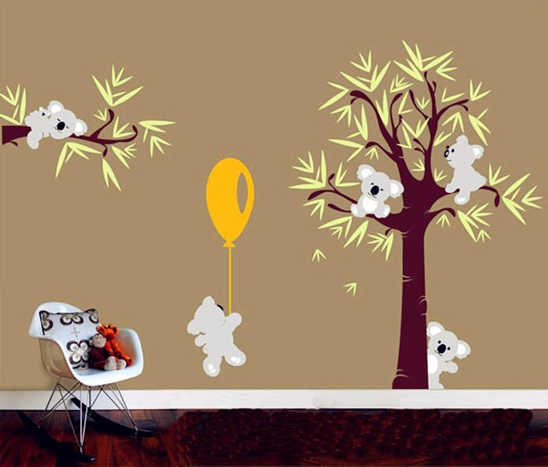 Achetez en gros koala autocollant en ligne des grossistes koala autocollant chinois - Stickers koala chambre bebe ...
