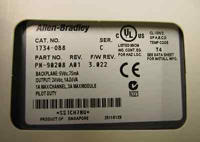 DHL/EMS 4 sets 1PC New for Allen Bradley AB 1734 OB8|set mp3|set letter|set hand - title=