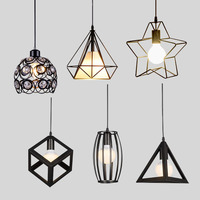 Modern Pendant Lights Minimalist Restaurant Lamps North American Industrial Pendant Lamp Dining Room Decoration Lghting E27