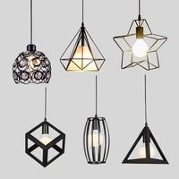 Modern Pendant Lights Minimalist Restaurant Lamps North American Industrial Pendant Lamp Dining Room Decoration Lghting E27