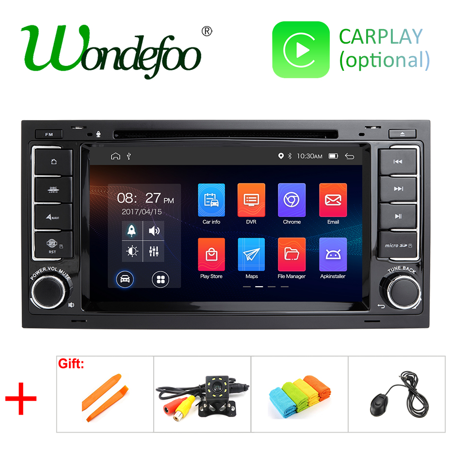 IPS SCREEN DSP 4G 64G 2 din Android 9 0 CAR DVD PLAYER For VW Touareg